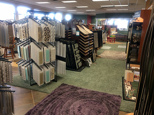 Please come visit us at our showroom, we will help find the right flooring for you!